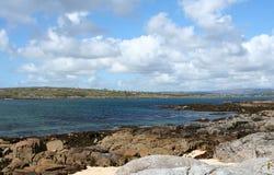 Praia coral, condado Galway, Ireland fotos de stock royalty free