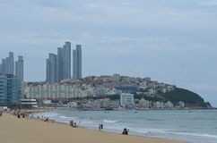 Praia coreana sul Fotografia de Stock