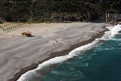 Praia corsa Fotografia de Stock