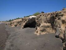 Praia Costa Rica de Hermosa imagem de stock