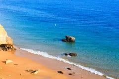Praia da Afurada Algarve, Portugal. Stock Photo
