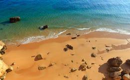 Praia da Afurada Algarve, Portugal. Stock Photography