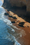 Praia da Afurada Algarve, Portugal. Royalty Free Stock Photo