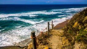 Praia da Aguda, Portugalia Zdjęcie Royalty Free