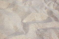 Praia da areia Foto de Stock Royalty Free