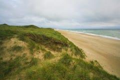 Praia da areia Imagens de Stock Royalty Free