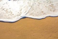 praia da areia do mar para o fundo Imagem de Stock Royalty Free