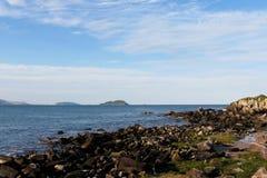 Praia da Armação, Florianà ³ polisa - Santa Catarina, Brasil, - Zdjęcie Royalty Free