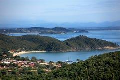 Praia da armacao buzios. Praia joao fernandes in the beautiful typical brazilian city of buzios near rio de janeiro in brazil Stock Photography