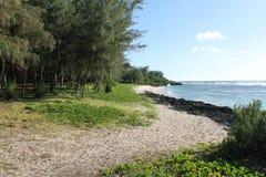Praia 2 da aterrissagem de Tinian Fotografia de Stock Royalty Free