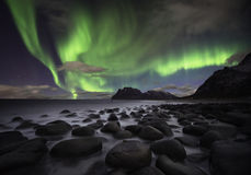 Praia da Aurora Imagens de Stock Royalty Free