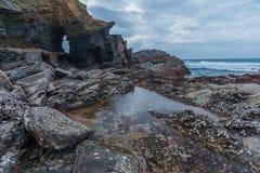 Praia da baía de Thompsons Imagens de Stock