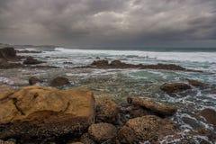 Praia da baía de Thompsons Imagem de Stock Royalty Free