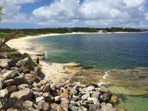 Praia da baía de Yarra Foto de Stock