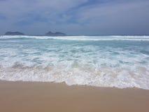 Praia da Barra da Tijuca - Rio - Brasile fotografie stock