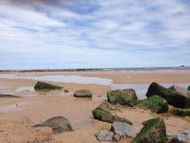 praia da boca de tyne Imagens de Stock