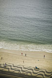 Praia da cabana de Copa Imagens de Stock Royalty Free