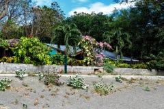 Praia da casa Imagem de Stock