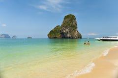 Praia da caverna de Phra-nang Imagens de Stock
