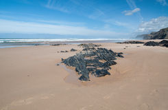 Praia da Cordama; Portugal Royalty Free Stock Image