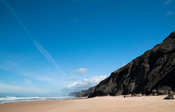Praia da Cordama in Portugal Royalty Free Stock Photography