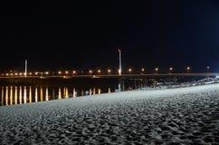 Praia da costa de Novi Sad Imagens de Stock