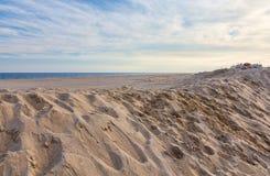 Praia da costa do jérsei Fotos de Stock