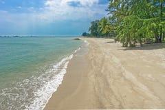 Praia da costa leste imagem de stock royalty free