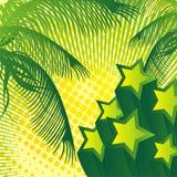 Praia da estrela ilustração royalty free