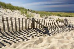Praia da extremidade das terras da província Imagens de Stock