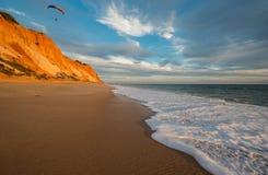 Praia da Falesia Stock Photo