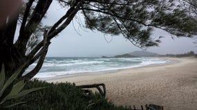 Praia da Ferrugem Royalty Free Stock Image