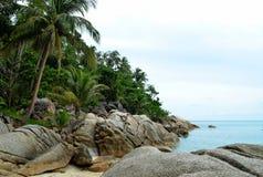 Praia da garrafa (Tailândia) Imagem de Stock Royalty Free