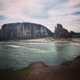 Praia DA Guarita στοκ εικόνα με δικαίωμα ελεύθερης χρήσης