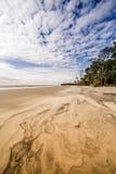 Praia da ilha da caça fotografia de stock royalty free