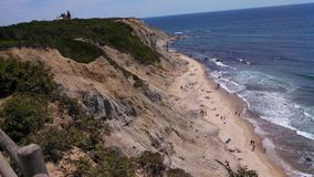 Praia da ilha de bloco Foto de Stock