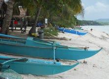 Praia da ilha de Bohol Imagem de Stock