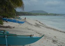 Praia da ilha de Bohol Foto de Stock Royalty Free