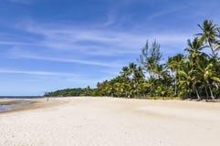 Praia da ilha de Boipeba, Morro de Sao Paulo, Salvador, Brasil Imagens de Stock Royalty Free
