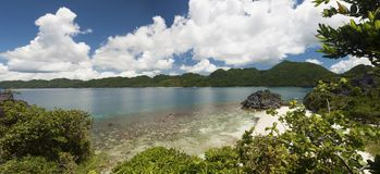 Praia da ilha de Caramoan Imagens de Stock