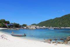 Praia da ilha de Nangyuan Imagens de Stock Royalty Free