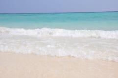 Praia da ilha de Raya Imagem de Stock