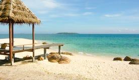 Praia da ilha de segunda-feira Nork Fotos de Stock