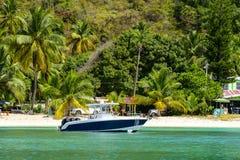 Praia da ilha de Virgin Foto de Stock Royalty Free