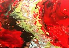 Praia da lava Fotografia de Stock