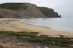 Praia da Luz Beach, Algarve, Portugal Stock Photo