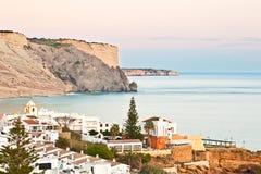 Praia da Luz, Lagos, Algarve Stock Photos
