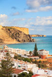 Praia da Luz, Lagos, Algarve , Portugal Stock Image
