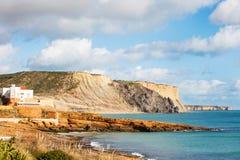 Praia DA Luz, Lagos, Algarve, Portugal royalty-vrije stock fotografie