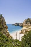 Praia da Marinha Royalty Free Stock Images